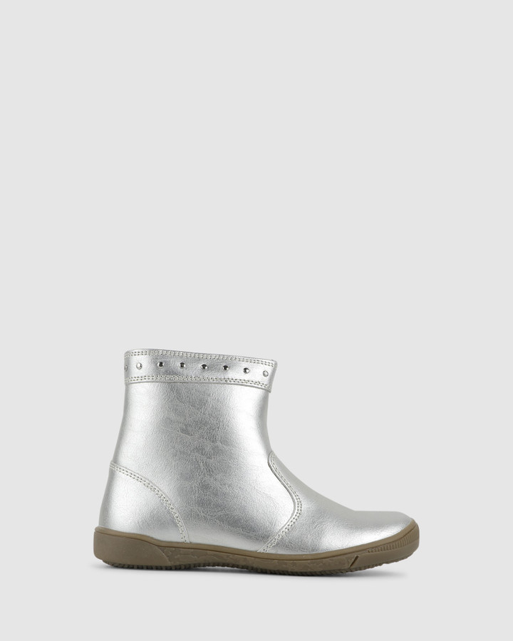 Shoes and Sox Grayce Stud Boot Soft Gold