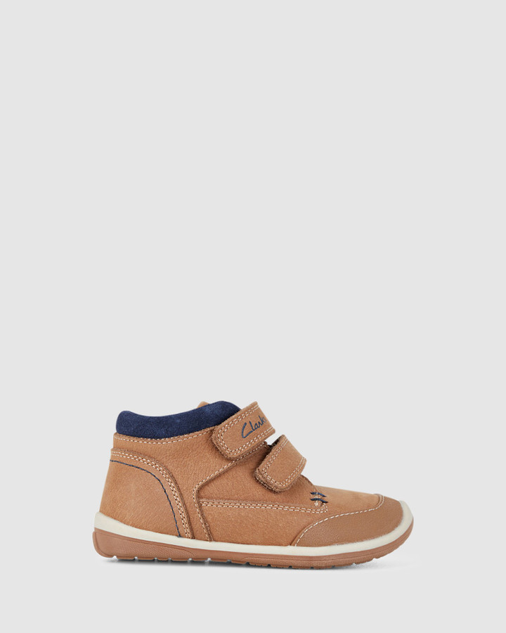 Shoes and Sox Munich Tan/Navy