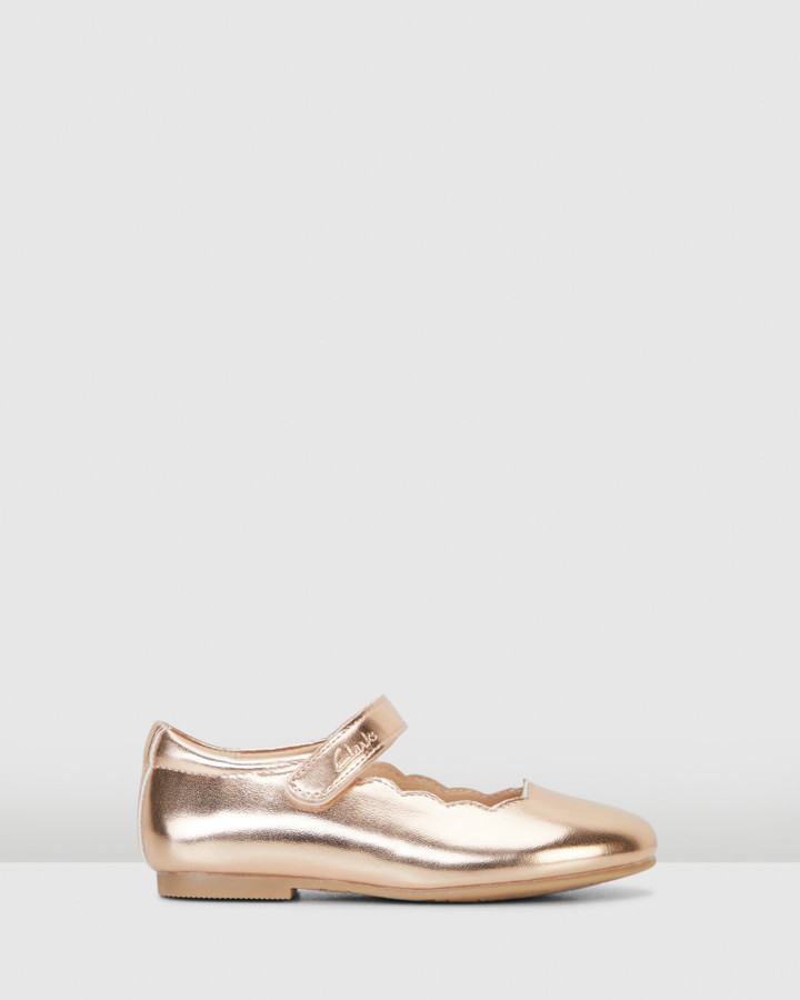 Shoes and Sox Audrey Snr Rose Gold