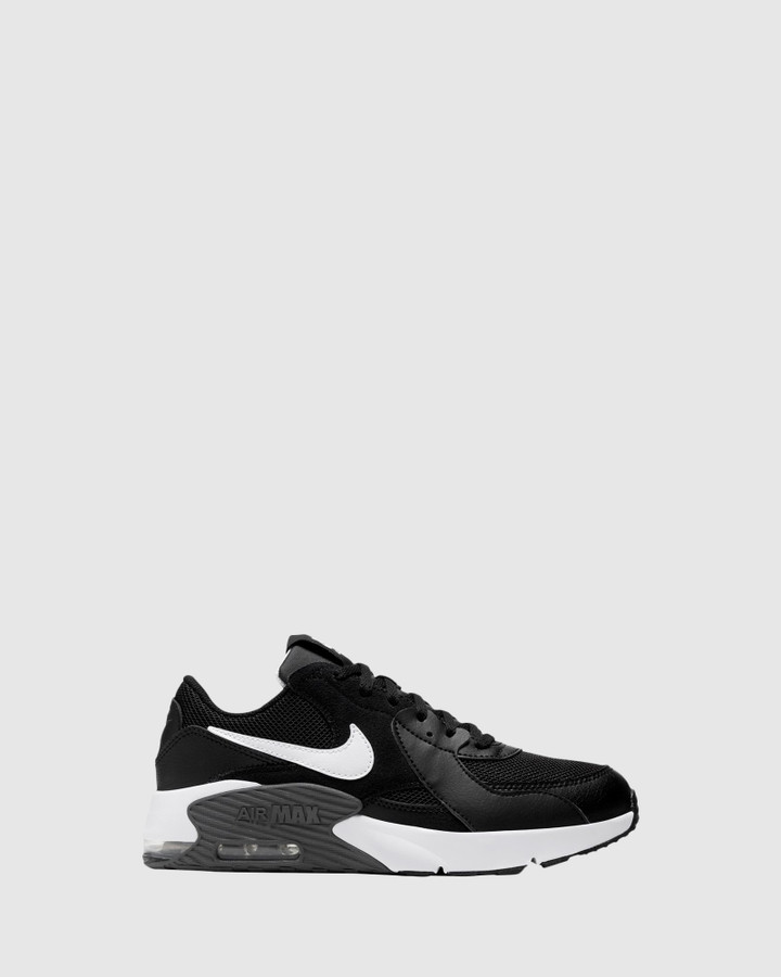 Shoes and Sox Air Max Excee Gs B Black/White/Grey