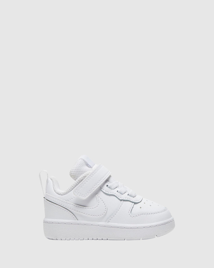 Shoes and Sox Court Borough Low 2 Inf B White