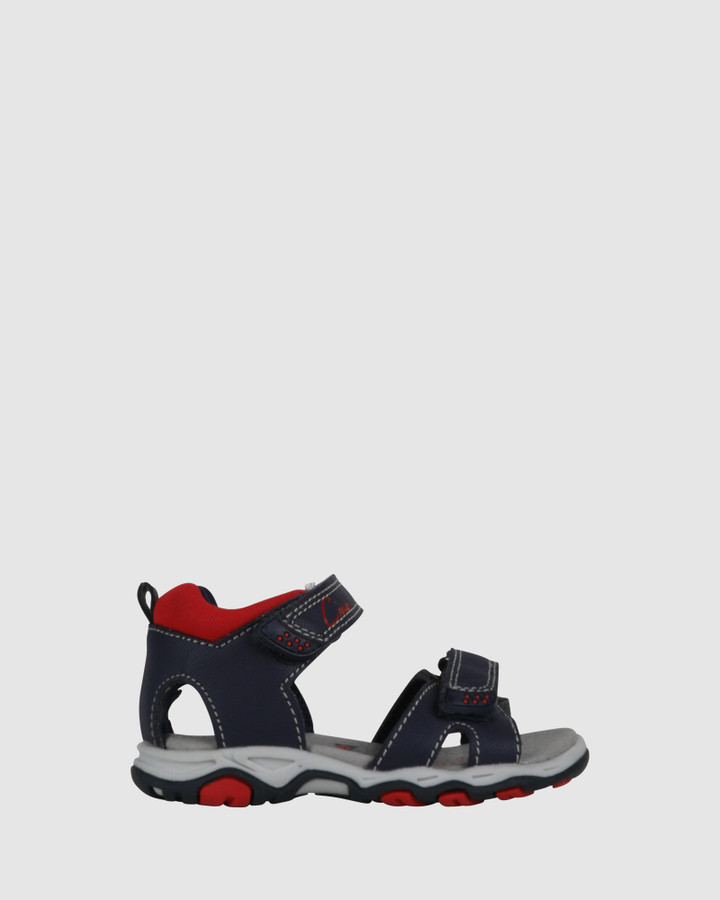Shoes and Sox Hype Navy/Red