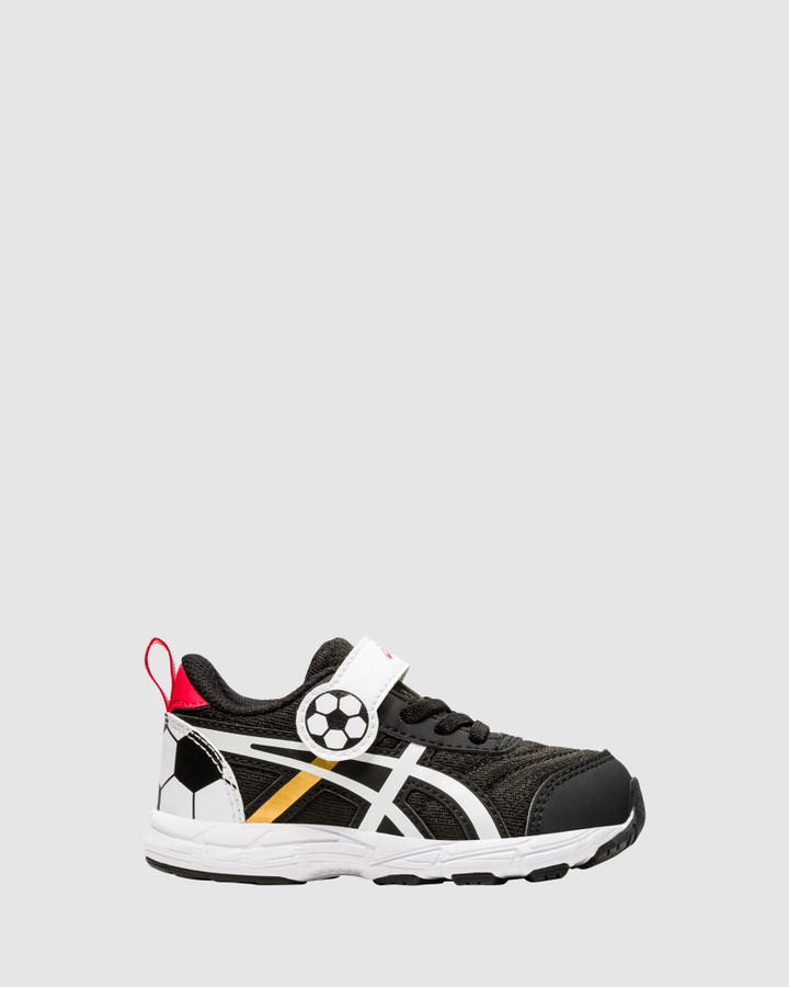Shoes and Sox Contend 6 School Yard Inf B Black/Gold