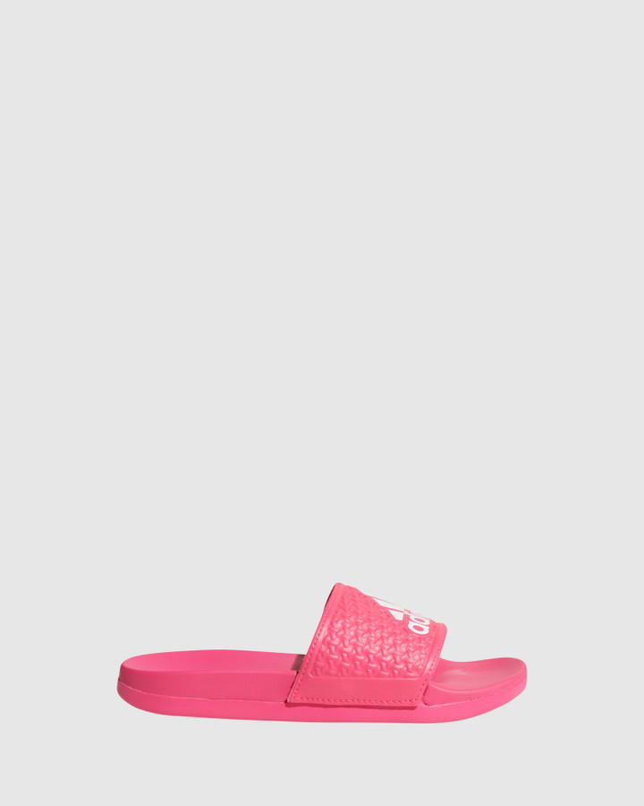 Shoes and Sox Adilette Comfort K G Shock Pink