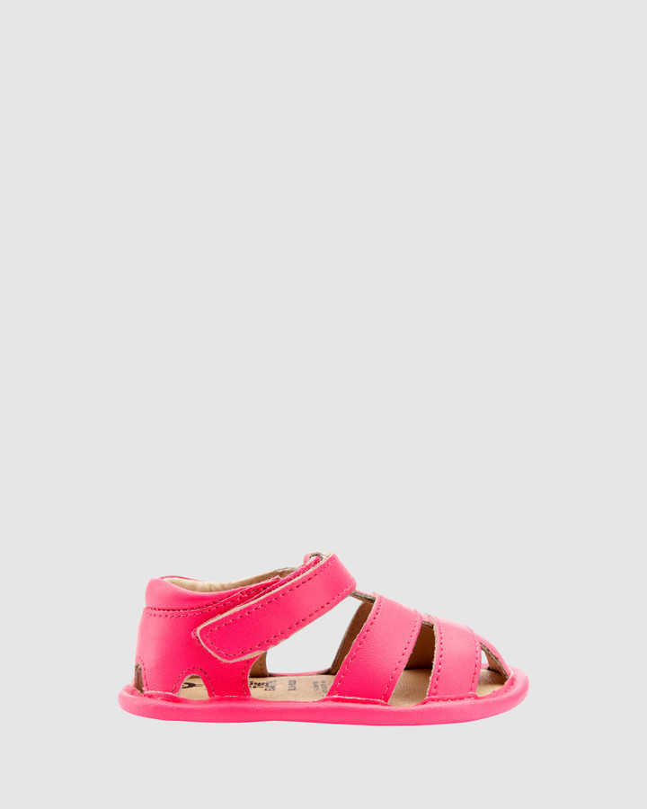 Shoes and Sox Sandy Sandal G Neon Pink