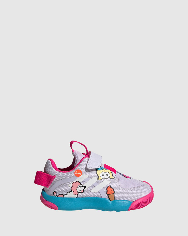Shoes and Sox Activeplay Cleofus Inf G Purple Tint Multi