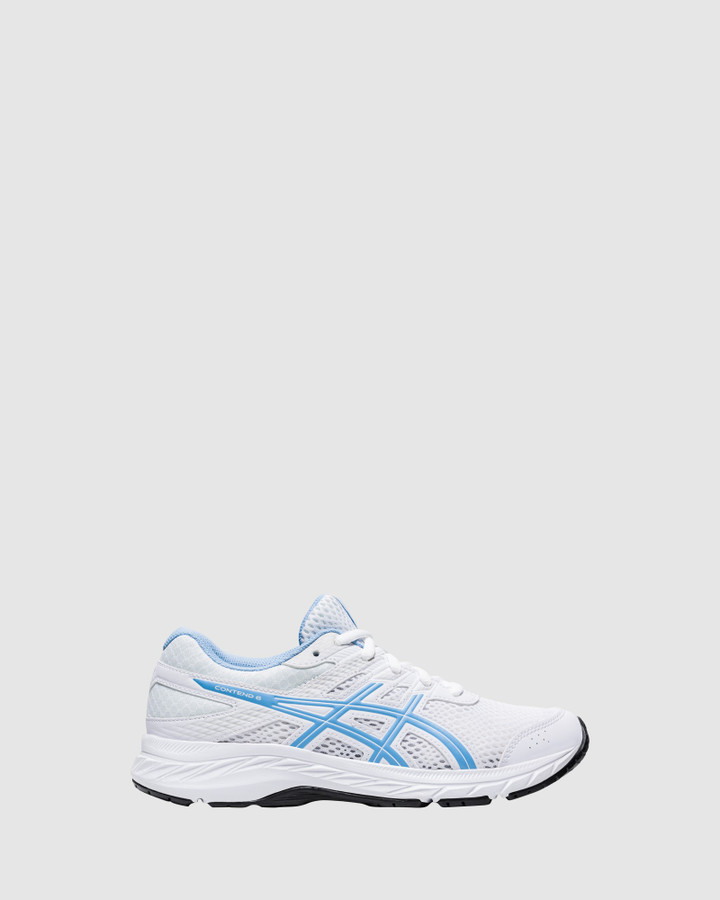 Shoes and Sox Contend 6 Gs G White/Blue Bliss