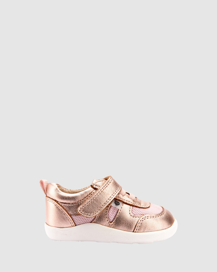 Shoes and Sox Cruzin Lo G Rose Gold/Pink