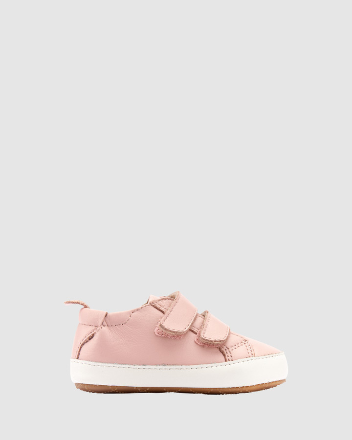 Shoes and Sox Bambini Markert G Powder Pink/White