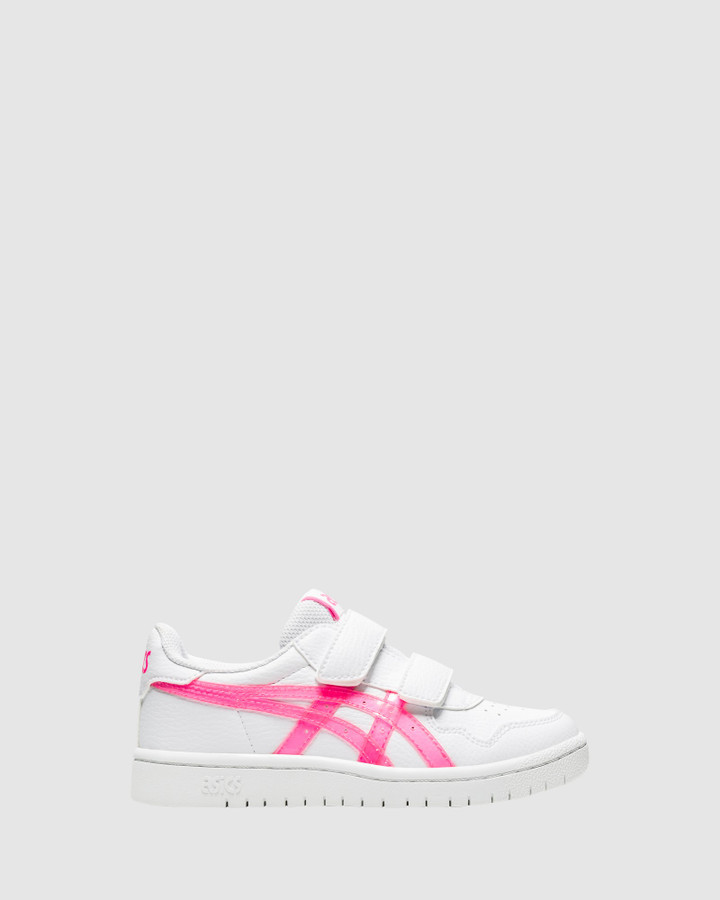 Shoes and Sox Japan S Ps G White/Hot Pink