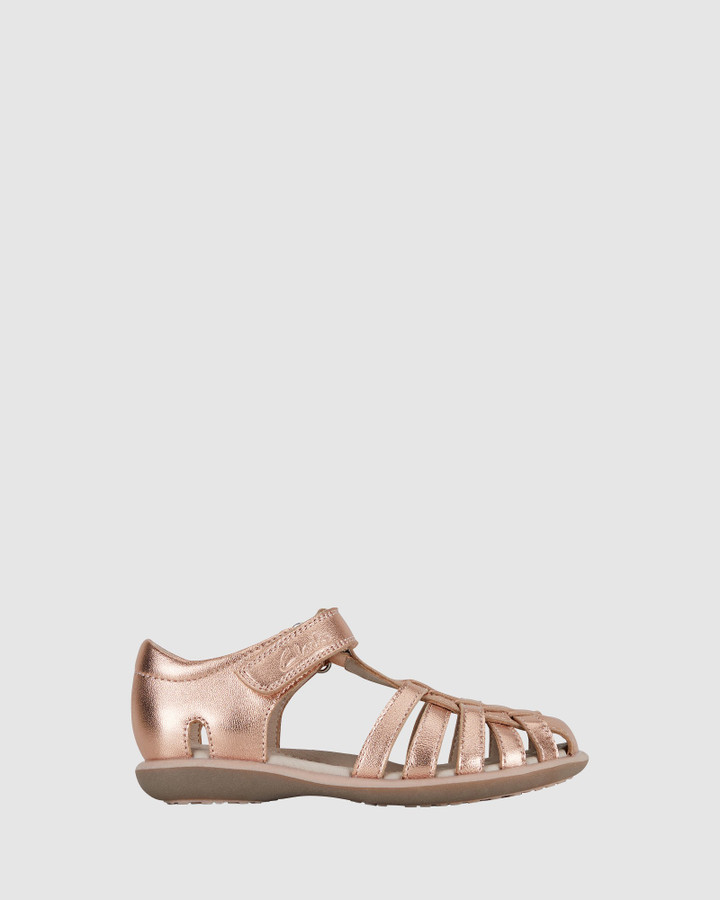Shoes and Sox Phoebe Rose Gold