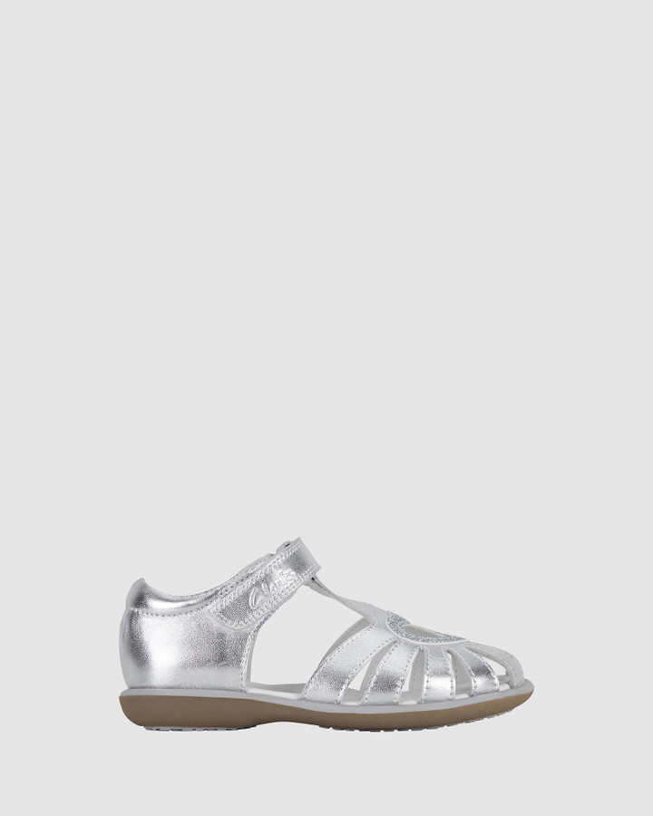 Shoes and Sox Passion Ii Silver/Glitter