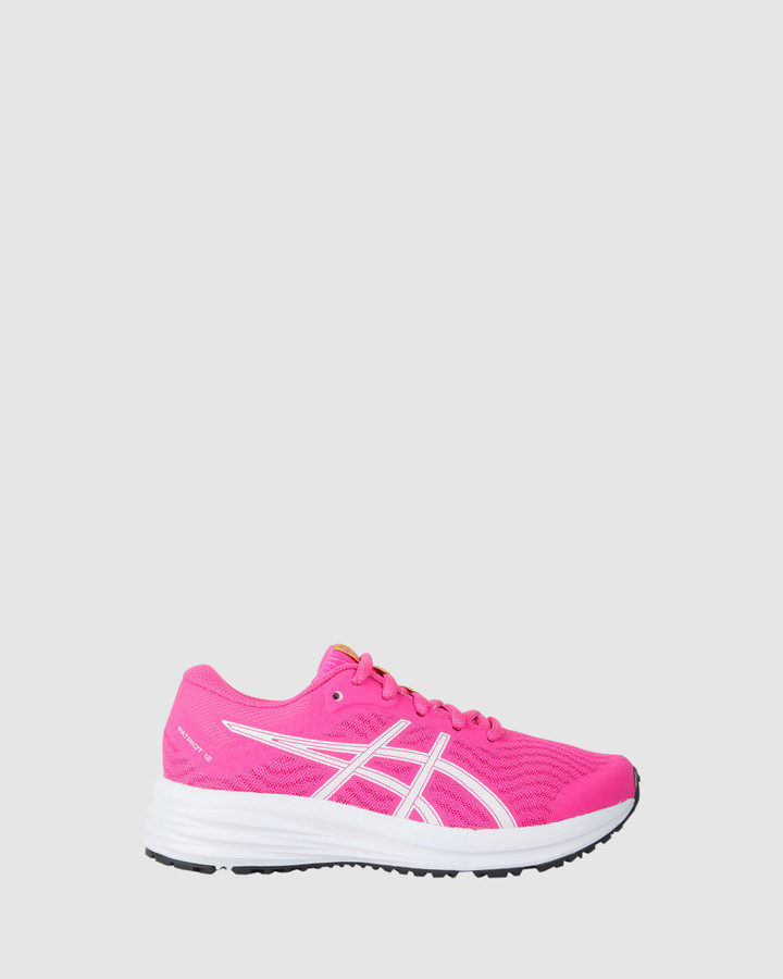 Shoes and Sox Patriot 12 Gs G Pink Glo/White
