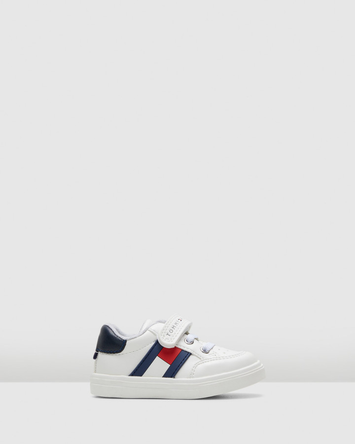 Shoes and Sox Th Sf Low Cut Flag Sneaker Inf White/Navy/Red