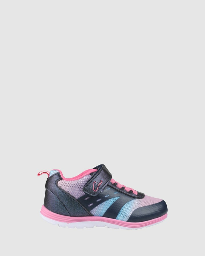 Shoes and Sox Cs Swift Rainbow G Navy/Pink