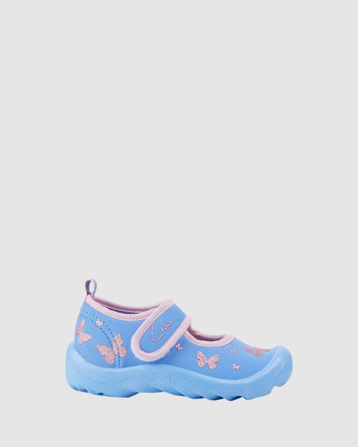 Shoes and Sox Beach Flutter G Lilac/Pink