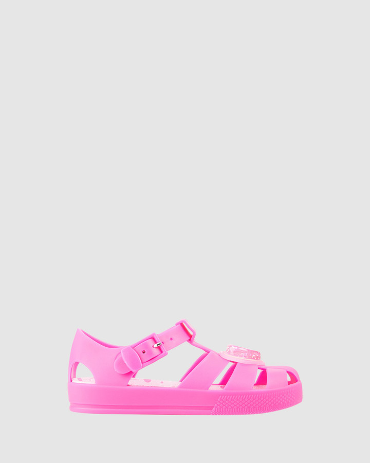Shoes and Sox Kiddo Heart Jellies G Bright Pink