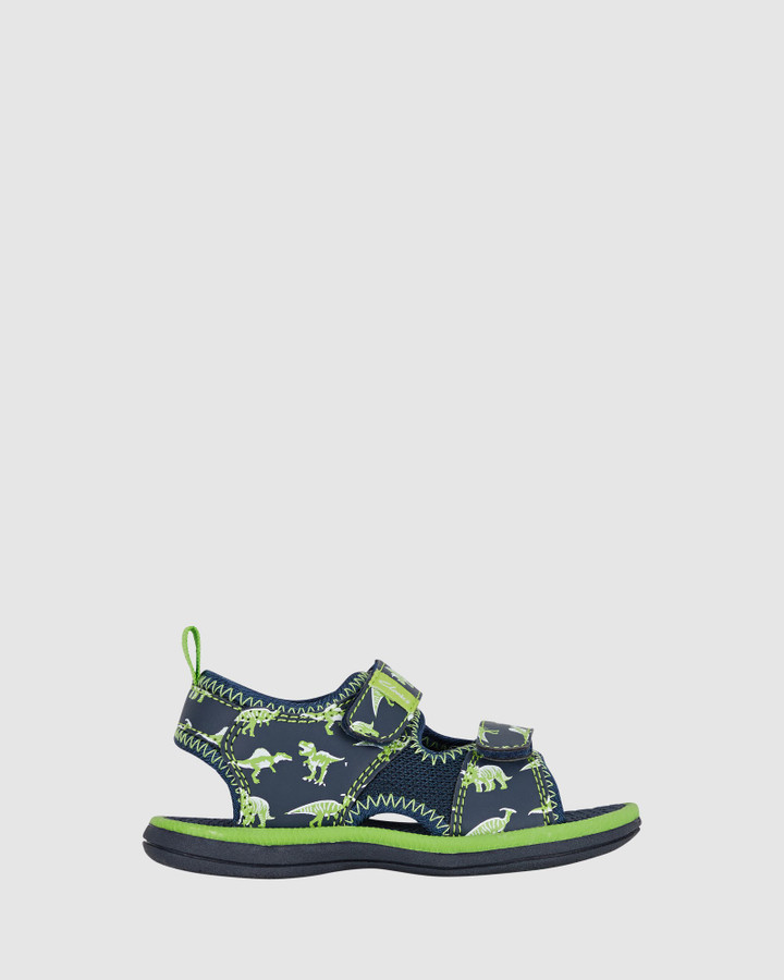 Shoes and Sox Fred Navy/Lime