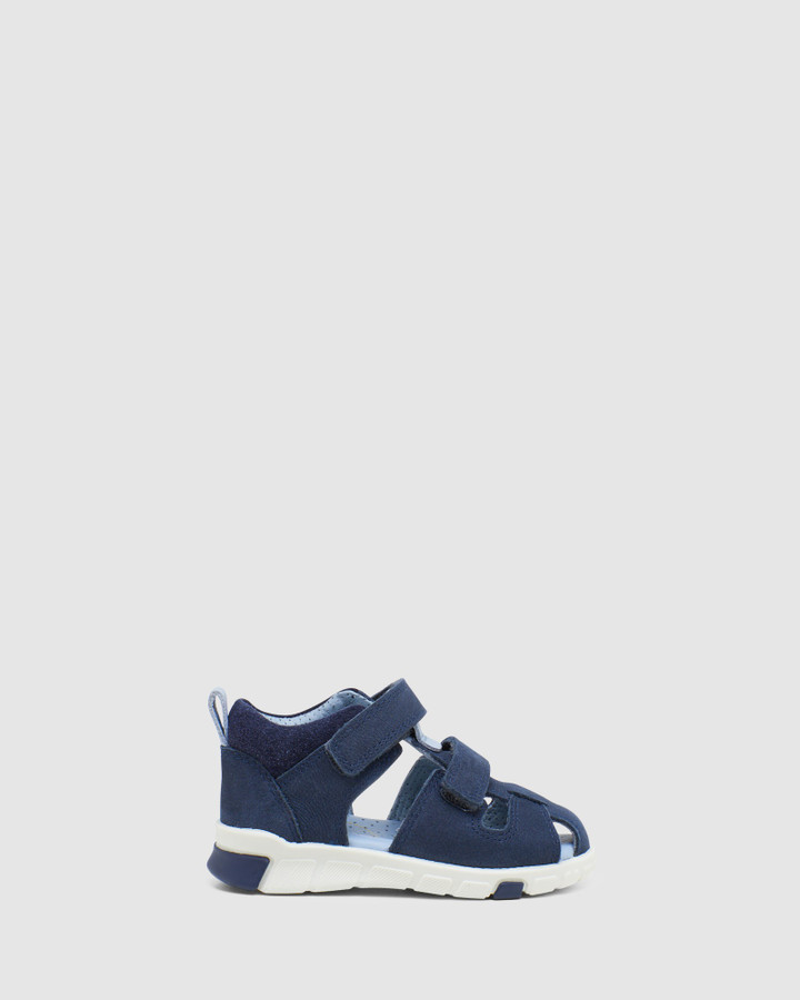 Shoes and Sox Mini Stride Sandal Cage B Night Sky