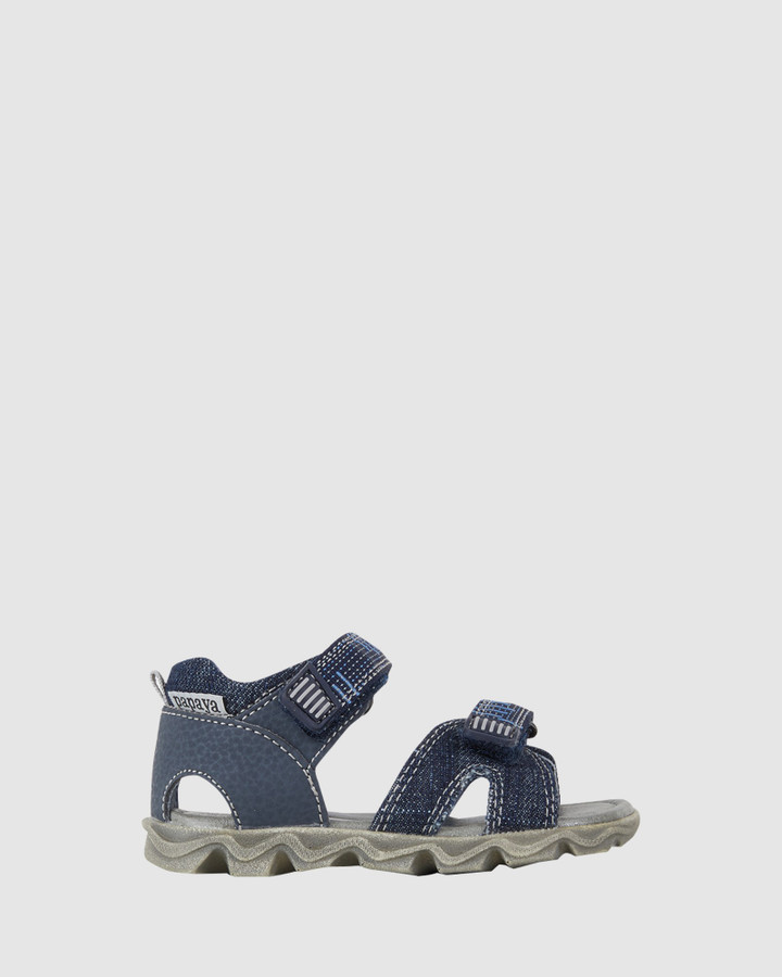 Shoes and Sox Kansas Jeans Open Inf B Navy