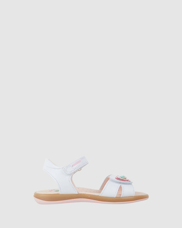 Shoes and Sox Sweet Sandal G 079100 Inf White