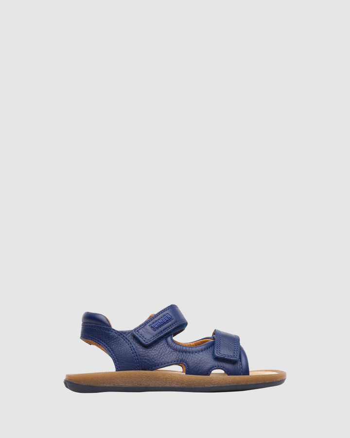 Shoes and Sox Bicho Sandal B Yth Navy