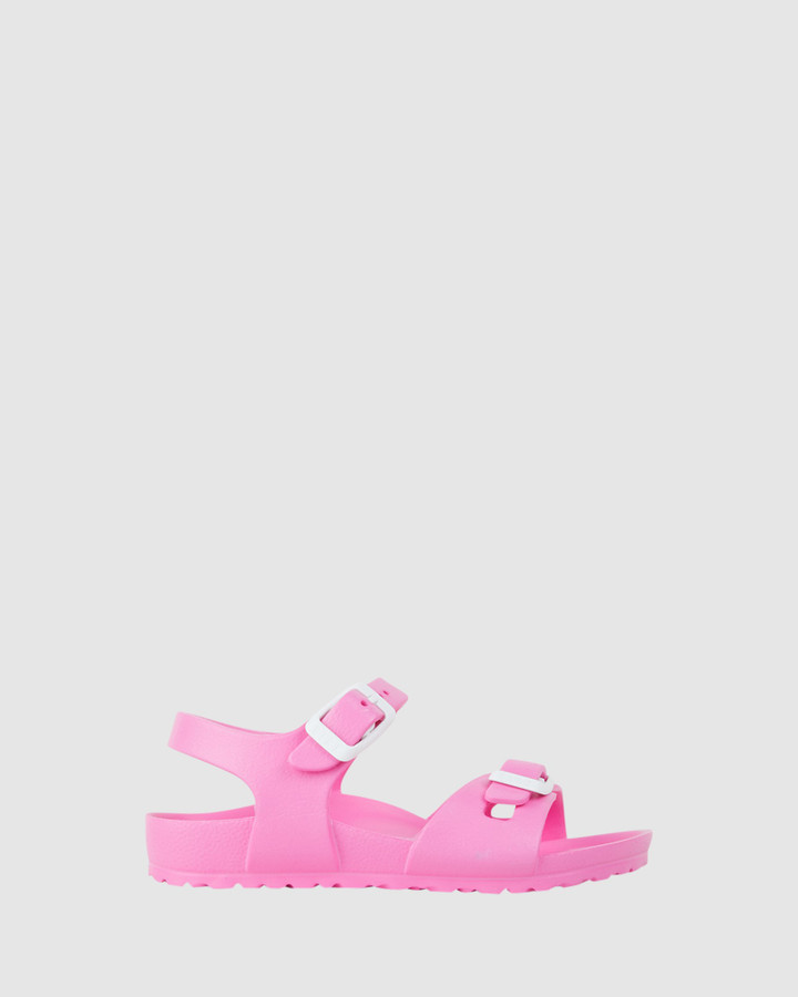 Shoes and Sox Rio Eva G Neon Pink