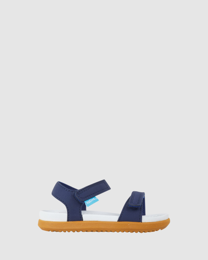 Shoes and Sox Charley B Inf Regatta Blue/White/Brown Ii