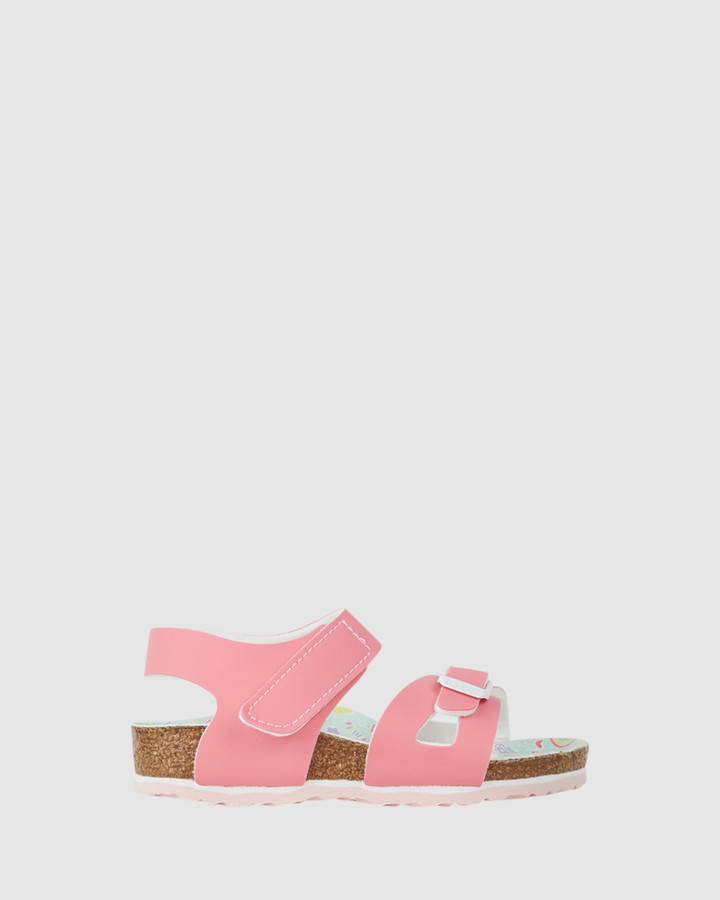 Shoes and Sox Colorado Narrow G Pastel Pink