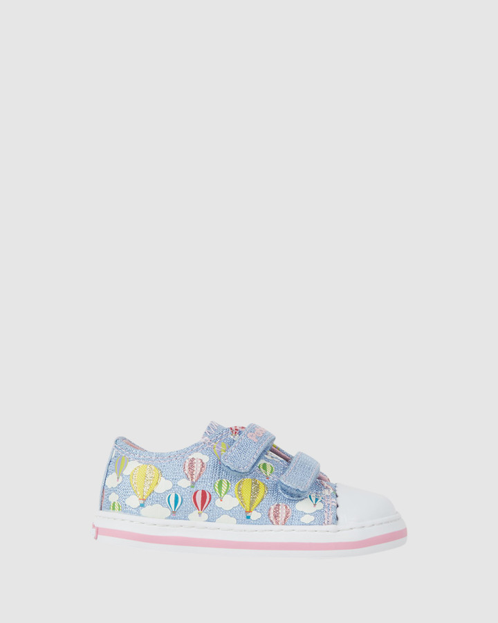 Shoes and Sox Balloon Canvas Sf 961510 Inf Sky Blue