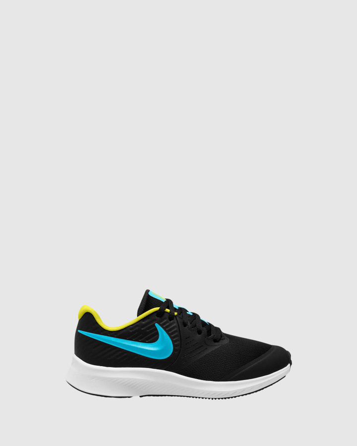 Shoes and Sox Star Runner 2 Gs B Black/Chlorine Blue