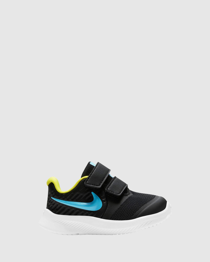Shoes and Sox Star Runner 2 Inf B Black/Chlorine Blue