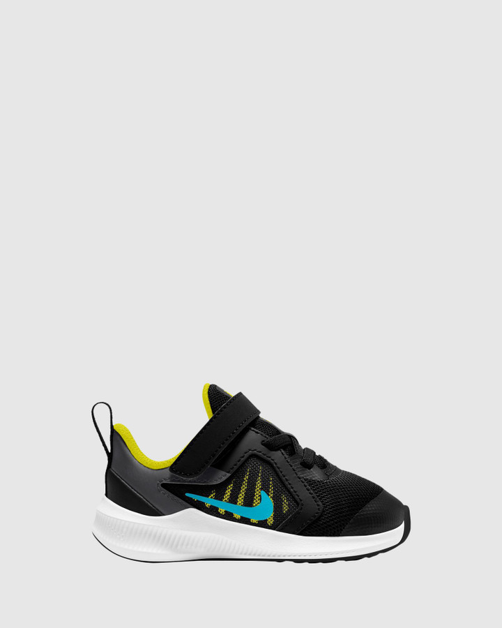Shoes and Sox Downshifter 10 Inf B Black/Chlorine Blue