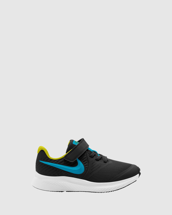 Shoes and Sox Star Runner 2 Ps B Black/Chlorine Blue