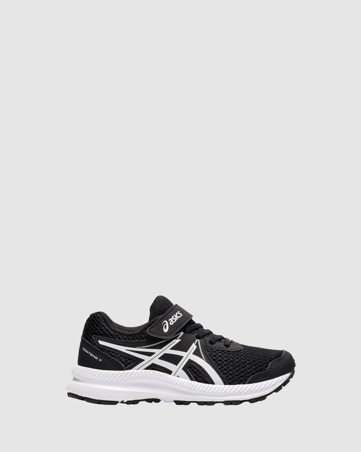Shoes and Sox Contend 7 Ps B Black/White