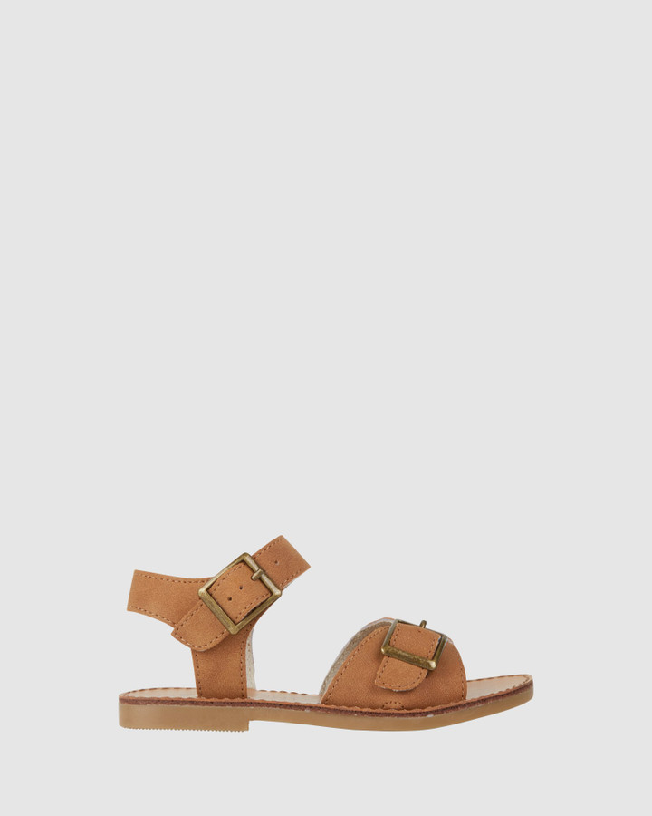 Shoes and Sox Ryder Sandal Tan