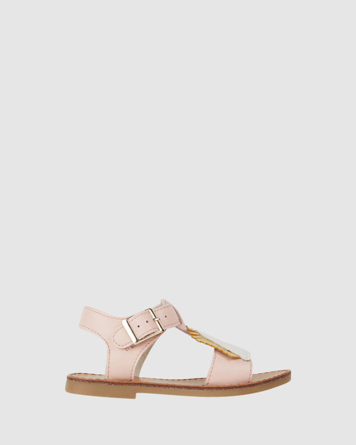 Shoes and Sox Rocky Sandal Pink
