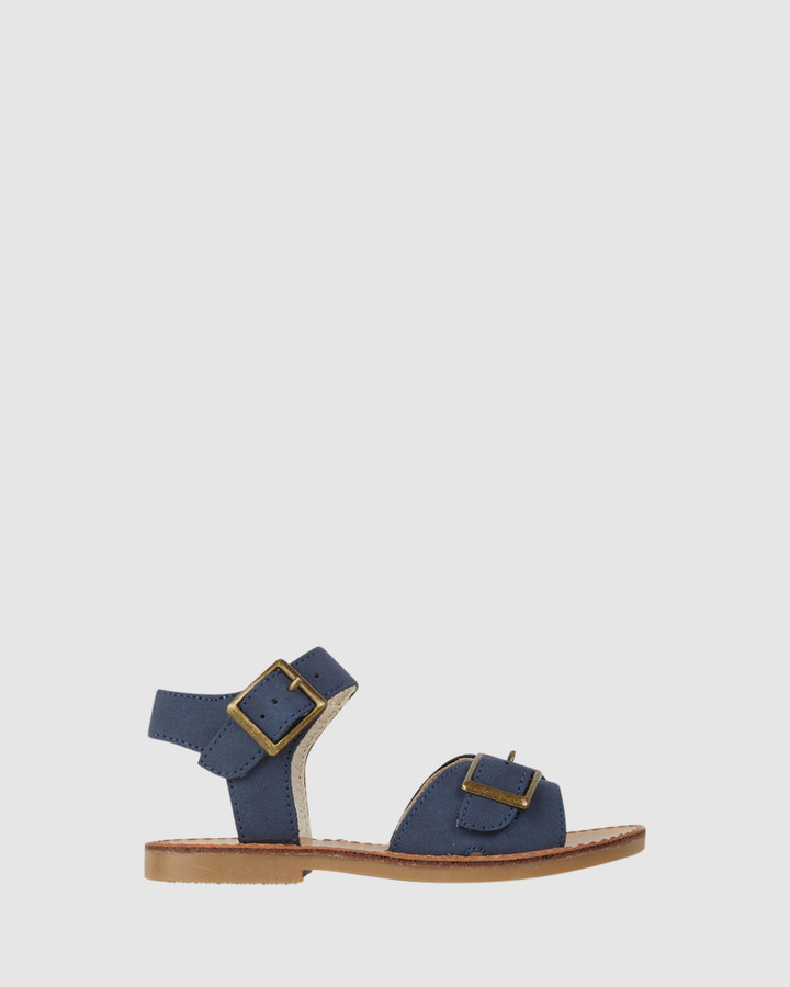 Shoes and Sox Ryder Sandal Navy