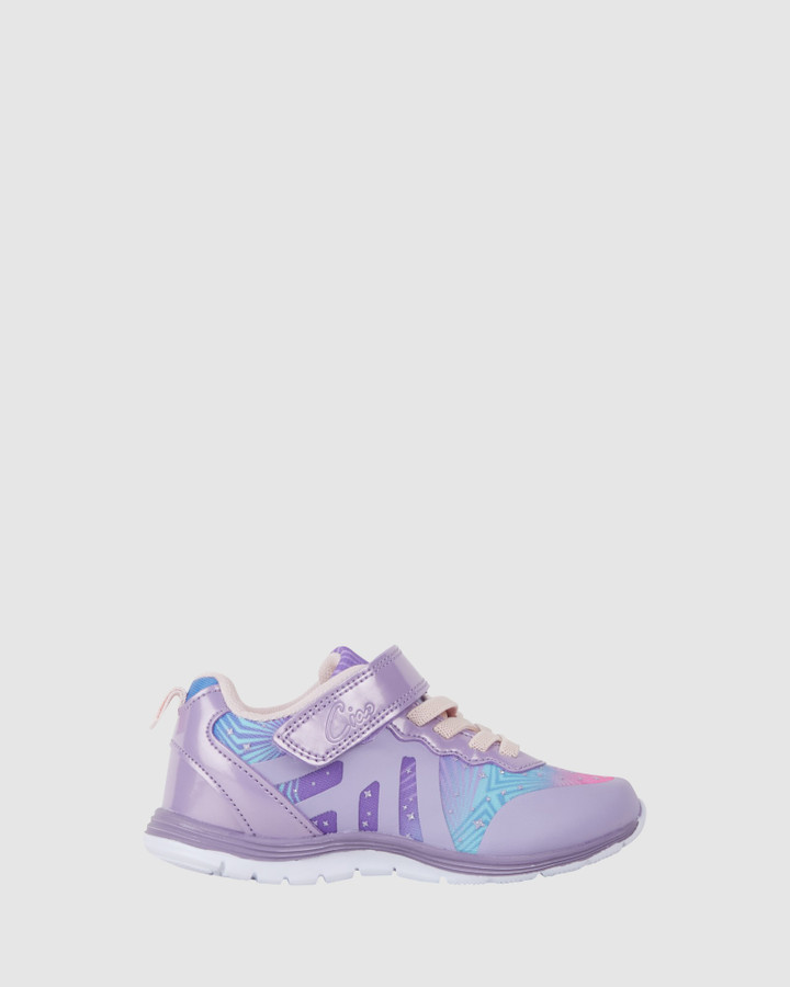 Shoes and Sox Cs Dash G Lilac Starburst