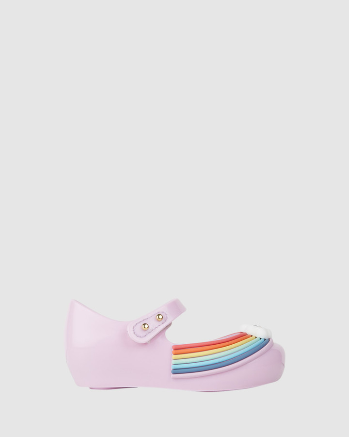 Shoes and Sox Ultragirl Sunny Day Bb Lilac Rainbow