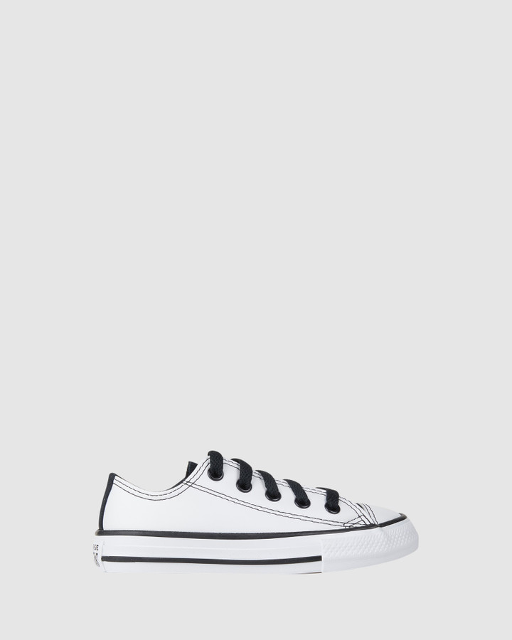 Shoes and Sox Ct As Passing Notes Yth White/Black