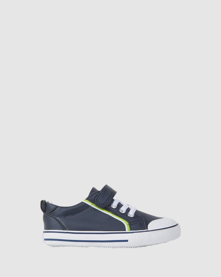 Shoes and Sox Miles Navy/Lime