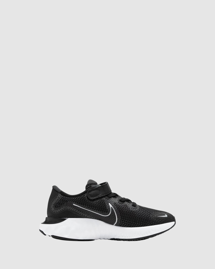 Shoes and Sox Renew Run Ps B Black/White