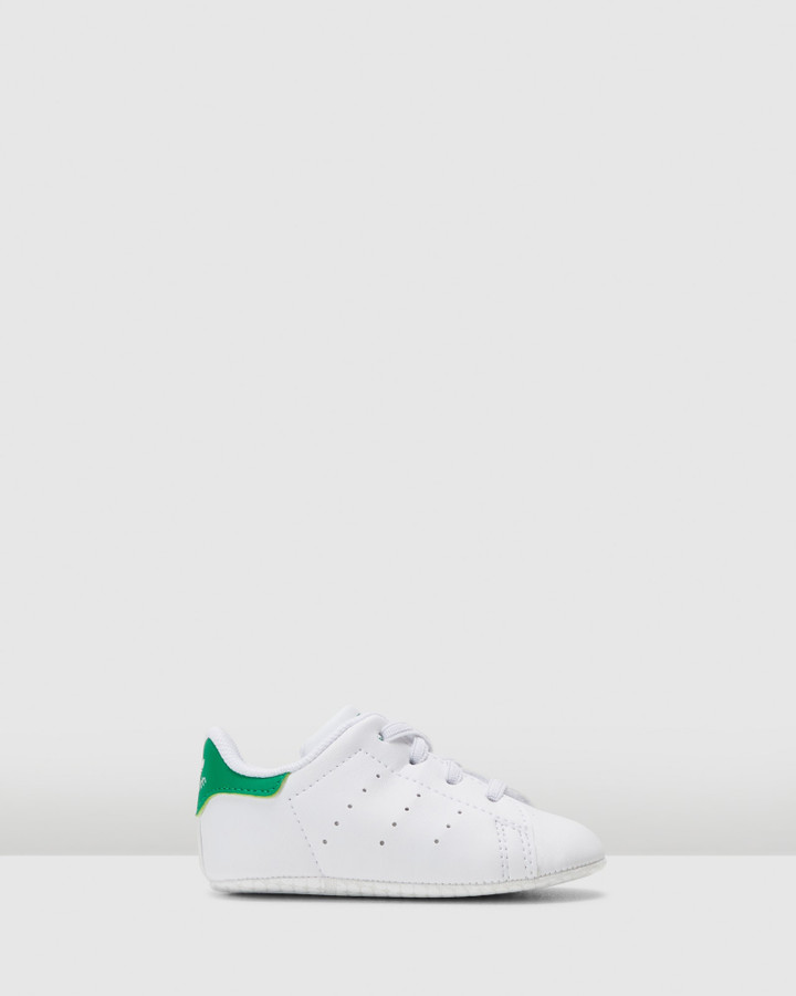Shoes and Sox Stan Smith Crib Ii White/Green