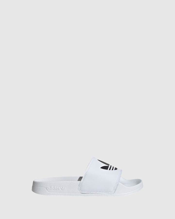 Shoes and Sox Adilette Lite B White/Black