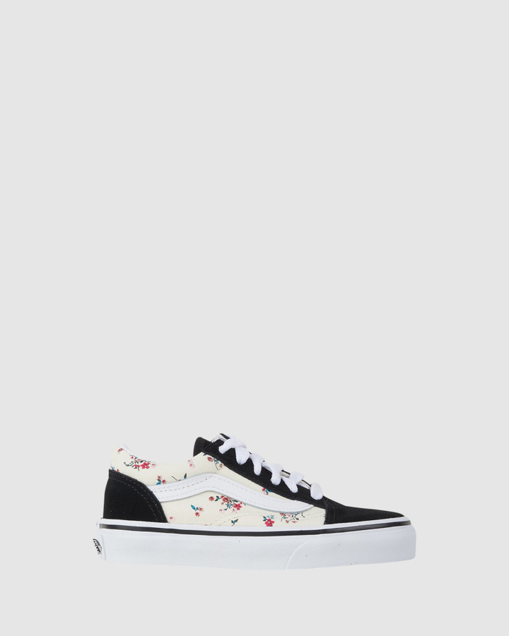 Shoes and Sox Old Skool Floral Yth Black/Floral