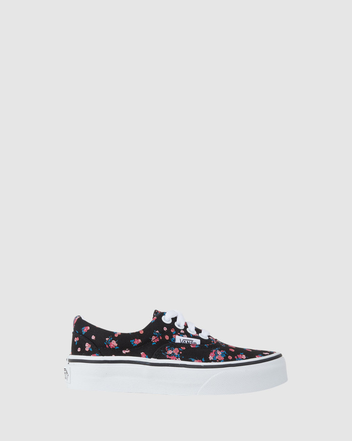 Shoes and Sox Era Floral Yth Black/Floral