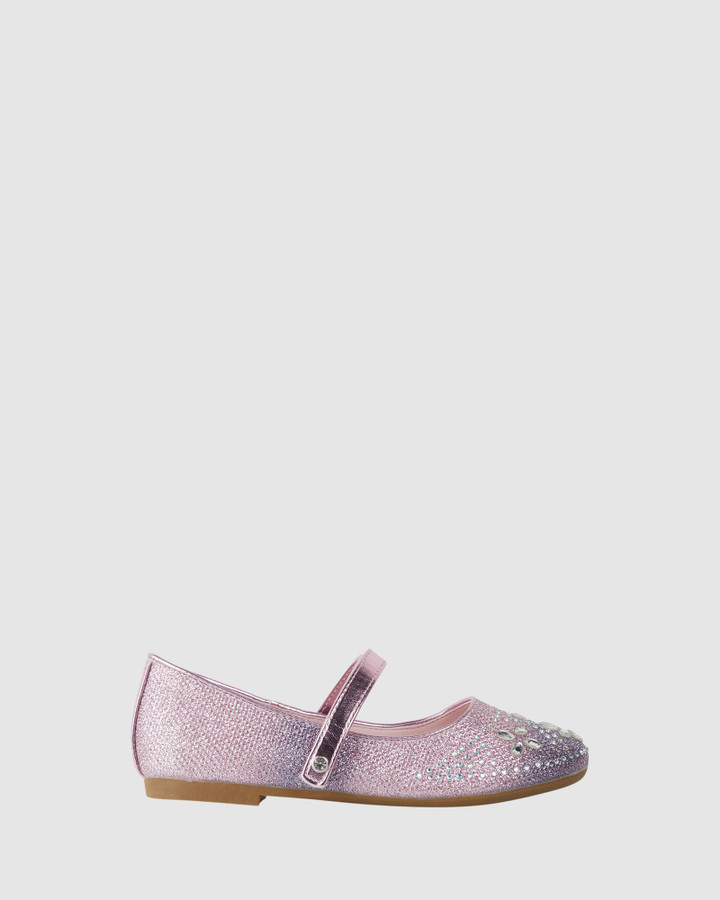 Shoes and Sox Coco Bloom Pink/Purple Ombre