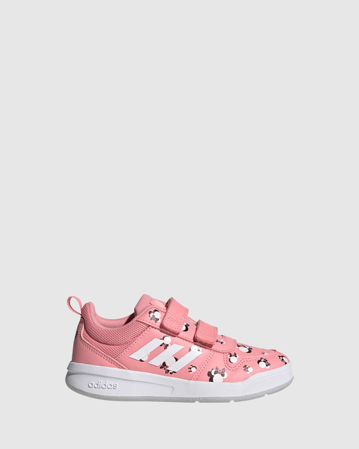 Shoes and Sox Tensaur Minnie Ps Pink/White/Grey