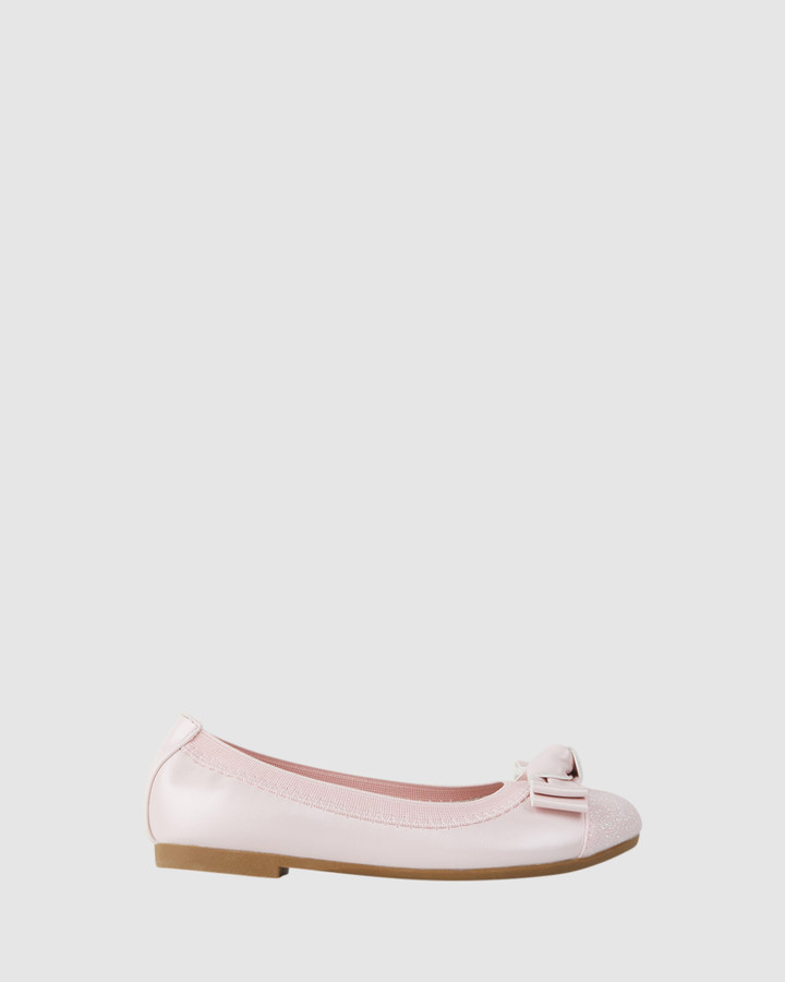 Shoes and Sox Charm Ballet Light Pink